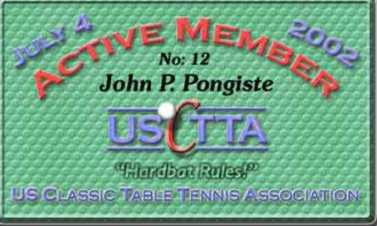 Front of Active Member Card